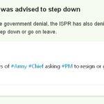 ISPR denies Nawaz was advised to step down | http://t.co/JQlgrdUtjQ http://t.co/g4hasdj6i5