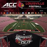RT @UofLFootball: #ItsTime for the season to begin! Remember to fill the seats early & #blACCout PJCS tonight! #L1C4 http://t.co/3CbB5lyUXB