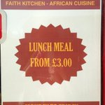RT @Faith_Kitchen: Its lunchtime #rdguk & we have a special offer for you! Come along to try great #Africanfood at 288-290 Oxford Road http://t.co/ON6EvRw0VB