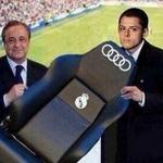 Hernandez presented with his bench at Real Madrid. http://t.co/bWreq2hYoL