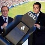 Hernandez presented with his bench at Real Madrid. http://t.co/wG06FbSIQe