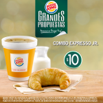 #Septiembre #Desayuno Opciones varias y ricas para empezar la mañana. Combo Expresso Jr. http://t.co/uSaii8BLjT