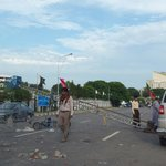 RT @salmanmasood: Qadri supporters have set up barricades on road leading to parliament http://t.co/AC7zIaVild