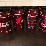 Souvenir stadium cup for sale at concession stands with beverages at Papa Johns Cardinal Stadium #L1C4 #blACCout http://t.co/zsmATHcX00