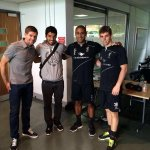 Thank you for all the joy you gave me!!!!! Great picture with @glen_johnson, @jon_flan93 and Steven Gerrard!!!! (2/2) http://t.co/ujJ2BJWCam