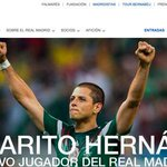 RT @sopitas: OFICIAL: Javier Chicharito Hernández ya es jugador del Real Madrid #BienvenidoChicharito http://t.co/iP4BDL2b69 http://t.co/rUtBoscB5v