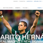 DEAL! Man Utds Javier Hernandez has joined Real Madrid on season-long loan with an option to buy. #MUFC http://t.co/pdYH9CyZ0p
