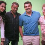 RT @trishtrashers: Also overwhelmed wit d response iv been gtin for my first look from Thala55.Thank u G... http://t.co/mQHlmQ35py
