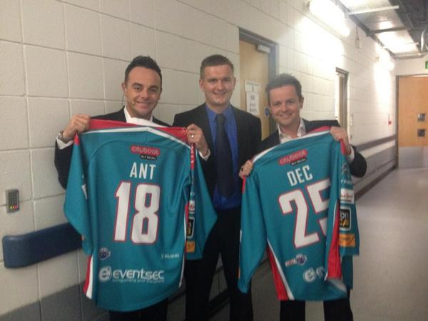 Check out the new @BelfastGiants jerseys featuring our Citybeat logo, modelled by @antanddec! http://t.co/fDNwGWXZbF
