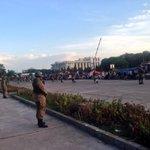 RT @RameezaNizami: 111 Brigade between protestors and Parliament. http://t.co/PngfjVxz8D