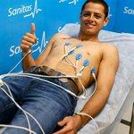 Goodbye Javier Chicharito Hernandez... Medicals at Real Madrid http://t.co/5y7G3FURNu
