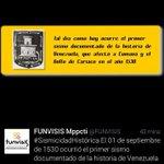 Hola @davidvpsuv, la Naturaleza celebró 484 años con un sismo en Cumaná. http://t.co/yOmWU3PNcB