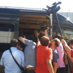 Waris i görüntüleyen basın mensupları http://t.co/7y3c5z0GGZ