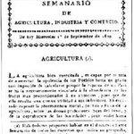 #Efemérides. El 01 de Setiembre de 1802, Hipólito Vieytes publica el Semanario de Agricultura, Comercio e Industria. http://t.co/ZQfEbUyGVU