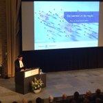 Ernst Hirsch Ballin spreekt over de wereld in de regio. #tilburgu #oaj14 http://t.co/sDzUxjeqzN