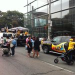 """""""@UFCW175633: Festive fun atmosphere as the steel drum band starts to warm up! Happy #labourday! http://t.co/iiA2dsZz5Z"""" Its us!"""