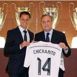 RT @ActuFoot_: Chicharito portera le numéro 14 avec le Real ! http://t.co/aqhe282vLE