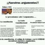 RT @cgarzonl: Sr. Presidente @MashiRafael Ud. Pide argumentos #ConMuchoRespeto le presento solo 3 #YsiTePasaAti @andrespaezid http://t.co/yidSehq4w4