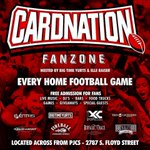 RT @JBrown_502: The @CardnationFZ opens on 1 HOUR!!! Hosted by everyones favorite @ElleRaiser and @BigTimeYurts #blACCout #GoCards http://t.co/MH5vEbUpHW