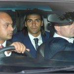 RT @MUFCScoop: Falcao arriving at Carrington! #MUFC http://t.co/Suu35ioJ57