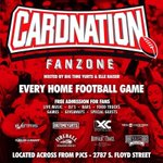 RT @EWood70: Good luck to @CoachPetrinoUL and the Cards tonight! Check out this tailgate before http://t.co/KvJ7yiz2g2
