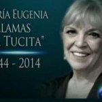 """Semblanza de María Eugenia Llamas """"La Tucita"""" http://t.co/5eFFTEn5je http://t.co/c2hMJSqN5H"""
