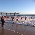 RT @denniskarantges: Spring day swim at Hobie Beach in PE this morning @AlgoaFM http://t.co/2owjiz0m8W