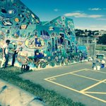 RT @PlanetLeor: #LangevinMural in #Bridgeland coming along nicely #yyc #sceneyyc http://t.co/JmehD8uGDQ