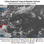 Aumenta a un 80% las probabilidades de que el disturbio tropical se convierte en Ciclón http://t.co/WsXaoZbPyW