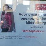 RT @Jorgengeurts: Weer een nieuwe winkel verhuurd a.d. Lange Delft 26 te Middelburg: Paprika. Tevens VERKOPEND PERSONEEL gezocht. http://t.co/Az4PwgQH5a