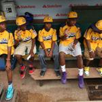 RT @chicagotribune: Photos: Jackie Robinson West honored at Wrigley Field. #JRW http://t.co/ReuPm4u1VD http://t.co/YitwVJllv0