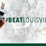 RT @MiamiHurricanes: Game Day. #BeatLouisville http://t.co/6ZfFK2mSAr