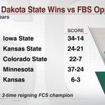 RT @ESPNCFB: North Dakota State has more #Big12 wins than Kansas does over the last 4 seasons. http://t.co/zA1cn7n9UK