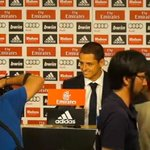 RT @sopitas: Arranca la presentación de Javier Hernández como jugador del Real Madrid, aquí la pueden ver! http://t.co/cD7GHNZM0q http://t.co/EH7bZuIoDT