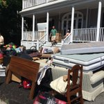 RT @BostonTweet: An entire apartment on the steps of Gardner Street. #AllstonChristmas http://t.co/8BIz0nm7AB