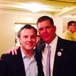 Great to be with @marty_walsh & so many supporters of working people at Greater Boston Labor Council #mapoli http://t.co/FiMfNQ6I7D