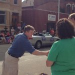 Great to kick of Labor Day in my hometown of Dubuque! http://t.co/QpIvIt4Ckm