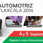 RT @SECTURTlaxcala: #VisitaTlaxcala se vestirá de gala para el evento Automotriz más importante de #México!!! http://t.co/Wd4DF1tOtd http://t.co/P5YN1A7o6V