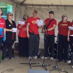 RT @Tony_Tracy: The SolidariGlee Singers from @HalifaxLabour open the #Halifax Labour Day Rally with song.   #NSpoli #canlab #HFXpoli http://t.co/iRwQDz84ba