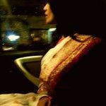 Its Really tough to Carry a Saree! :(