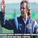 RT @TwitPigsOficial: Obrigado Gareca, desculpe a incompetência de nossa diretoria. #TwitPigs http://t.co/fTYYTPpX7Z