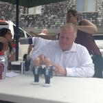 There are 300mg of caffeine in each of the energy drinks on the table in front of #RobFord https://t.co/5x1mfqDWHa