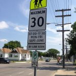 Dont forget about the new speed limits in some school zones. They go into effect today. #winnipeg http://t.co/8gps019hxc