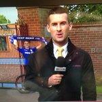 Highlight of Transfer Deadline Day so far. Blues fan outside Villa training ground. http://t.co/AB6XrUjyCL