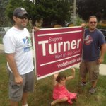 """""""@KarGair: @st3v3turn3r sign crew hitting Ward 11 streets thanks to some very dependable volunteers! http://t.co/IMMoTBYUMc #ldnvotes """""""