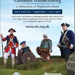 RT @InverOutlanders: Busy weekend in Inverness this weekend with both @WardlawMaus & @CullodenNTS having events on #DOD14 #homecoming ???? http://t.co/guM3cByIct