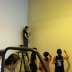 Our mural is underway! @cacoords #artstrenton #ca2014 http://t.co/lDpBQXQQqP