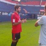 RT @nataliapgarraza: Ansarifard ya pisa El Sadar. Será el 12 de #Osasuna http://t.co/oMKVKcOkIc