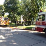 RT @CTVNewsBen: #Winnipeg Fire: 2 adults & 2 kids to hospital as precaution at Rutland St house fire. Damage est $15-20k @ctvwinnipeg http://t.co/mLUkXFNhBf