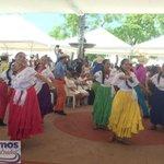 .@SECULTURASV realiza presentación folklórica en inauguración del Mes Cívico #SomosElSalvador http://t.co/WvqXJqaQmB